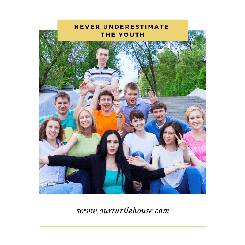 Read more about the article Never Underestimate the Youth