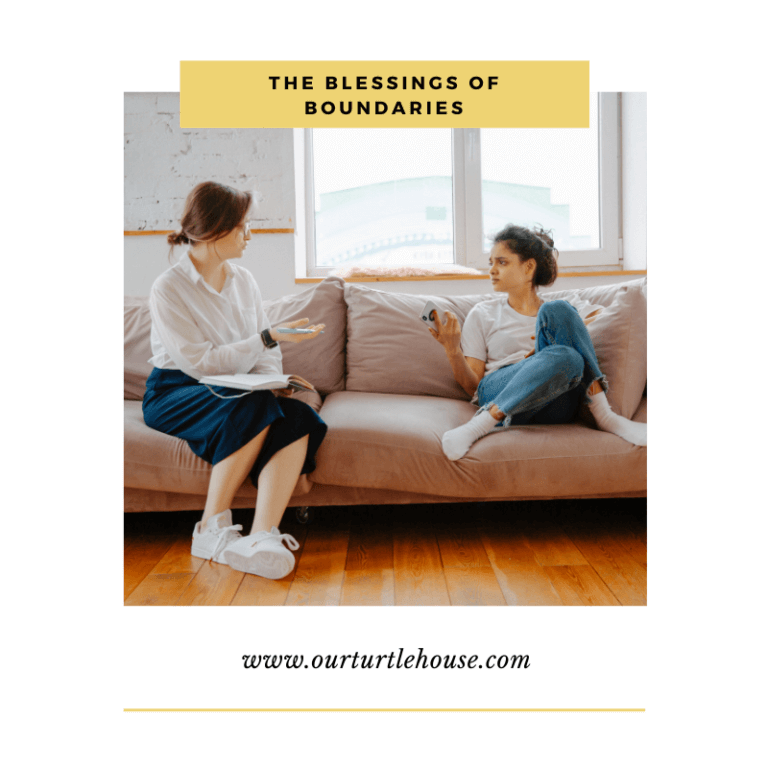 Read more about the article The Blessings of Boundaries