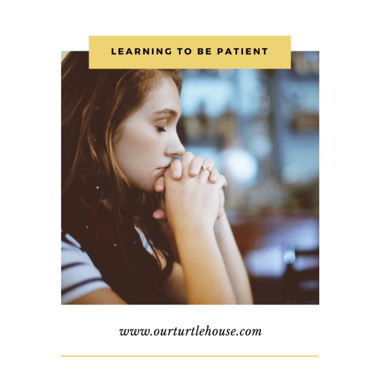 Read more about the article Learning To Be Patient